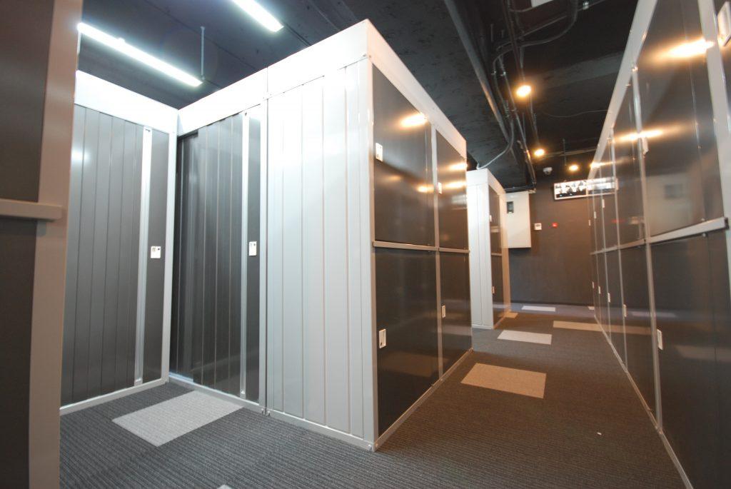 新橋虎ノ門のトランクルーム|グランストレージ新橋・虎ノ門 セキュリティ完備